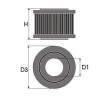 Sportovní filtr Green ALFA ROMEO 33 1,3L  výkon 63kW (86hp) typ motoru AR 30587 rok výroby 83-87