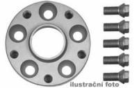 HR podložky pod kola (1pár) ALFA ROMEO 155 rozteč 98mm 4 otvory stř.náboj 58mm -šířka 1podložky 20mm /sada obsahuje montážní materiál (šrouby, matice)