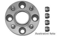 HR podložky pod kola (1pár) ALFA ROMEO 75 (do 1,8 ie) rozteč 98mm 4 otvory stř.náboj 58,5mm -šířka 1podložky 25mm /sada obsahuje montážní materiál (šrouby, matice)