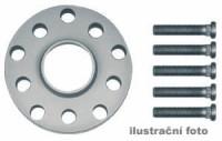 HR podložky pod kola (1pár) ALFA ROMEO 75 (do 1,8 ie) rozteč 98mm 4 otvory stř.náboj 58,5mm -šířka 1podložky 15mm /sada obsahuje montážní materiál (šrouby, matice)