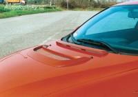 LESTER přední výdech kapoty s plastovou černou mřížkou Alfa Romeo 147